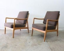 Ole Wanscher armchairs - The Vintage Shop