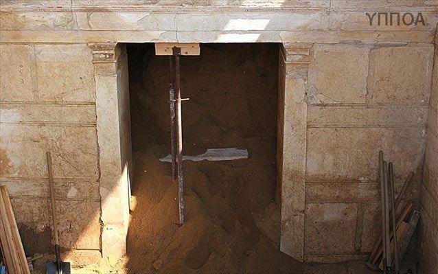 Ανακάλυψαν δύο ακόμη αίθουσες στην Αμφίπολη