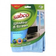 Window & Screen Microfibre Cloth. Perfect for all glass surfaces and windows. #sabcoaustralia