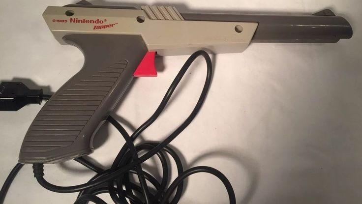 Nintendo Gray Zapper Gun Video Game Controller (Duck Hunt NES 005 1985)  | eBay