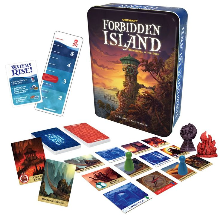 Gamewright Forbidden Island Game: Amazon.co.uk: Toys & Games
