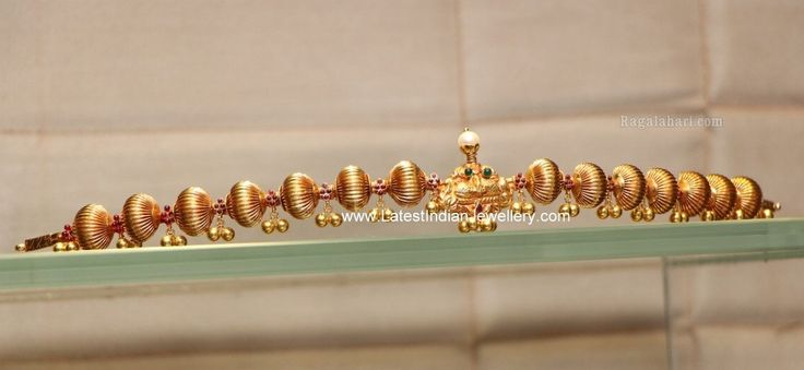 Lightweight gold Vaddanam