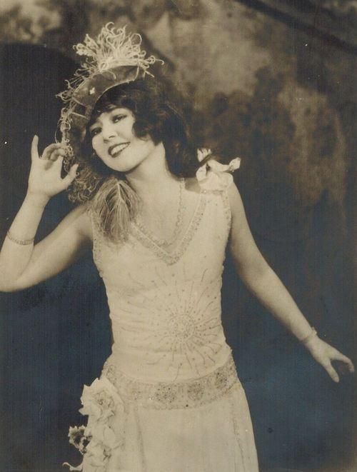Ziegfeld Girl Anne Pennington
