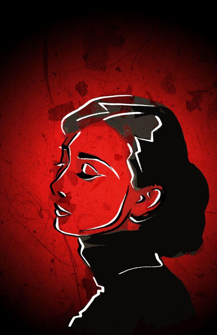 Hepburn Audrey postal