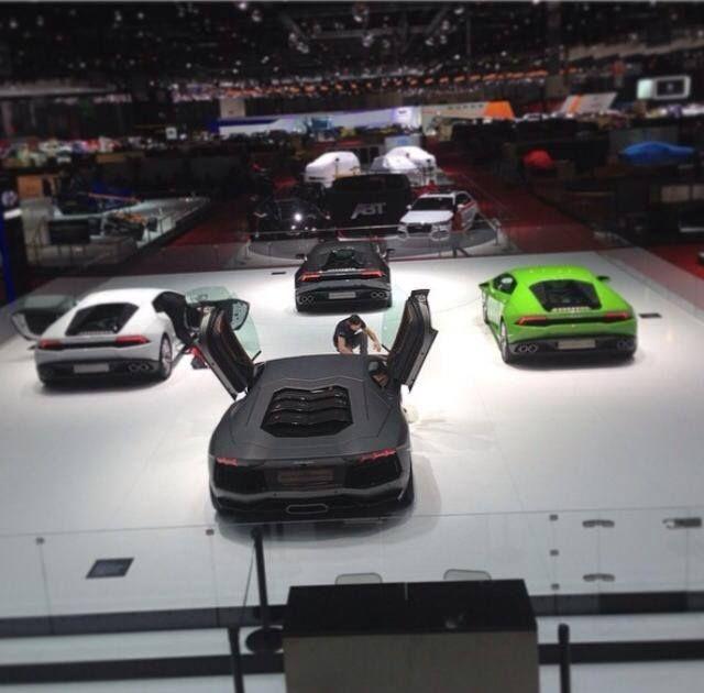 Sytner's resident Stig Takes to the Geneva Motor Show