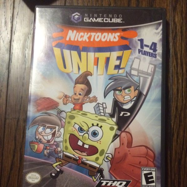 For Sale: Nicktoons United,GameCube Game for $5