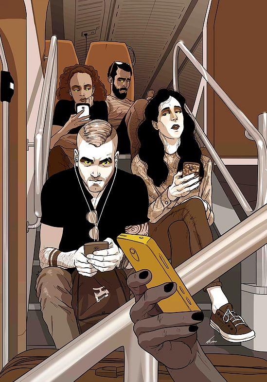Yehuda Dvir | Illustration | Peeping Generation