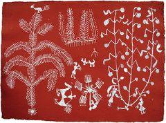 L'art de la tribu Warli à la Grosvenor Gallery