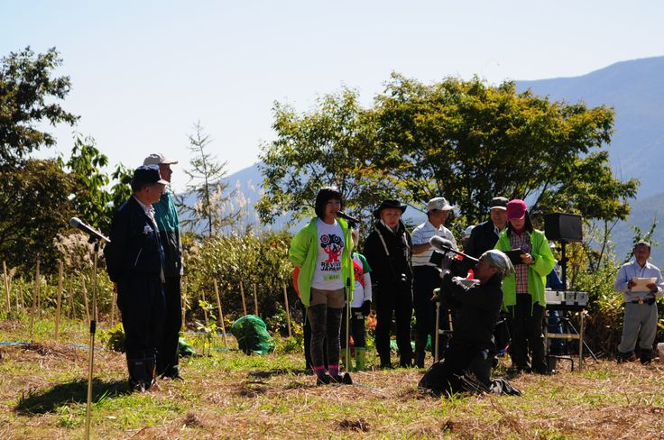 ≪Present Tree in 宮古≫第1回植樹イベント_20121008 開会式