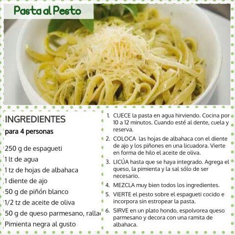Pasta de Pesto