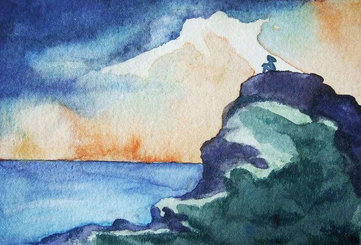 """""""The Hiding Place"""" By Moriah Hengst Watercolor"""