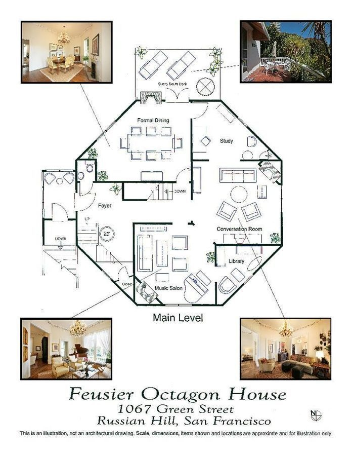 17 best images about cool homes world on pinterest for Octagon cabin floor plans