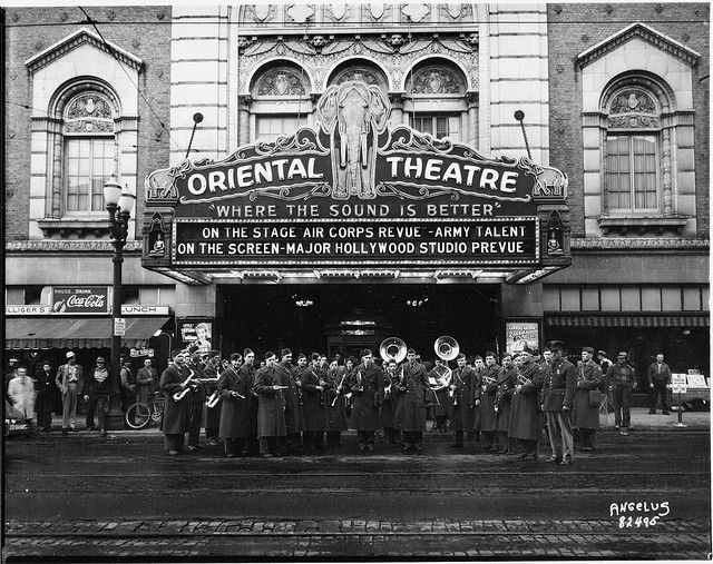 The old Oriental theatre in 2020 Oriental theater