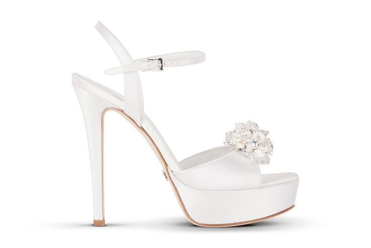 ROCK 104 ‹ Mascia Mandolesi, scarpe da sposa e cerimonia online, sandali gioiello, wedding shoes, luxury shoes, jewel sandal Made in Italy