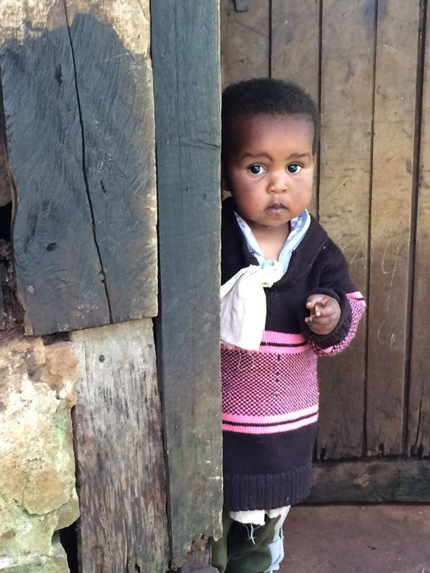 Farmer Jane Ngari granddaughter, Christabelle