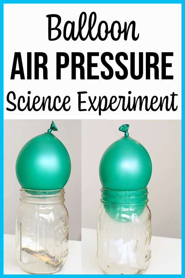 Balloon Air Pressure Experiments For Kids Science Experiments Kids Elementary Cool Science Experiments Science Experiments Kids