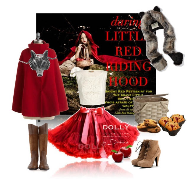 who is afraid of big wolf? Little red riding hood for your fairy whiles.