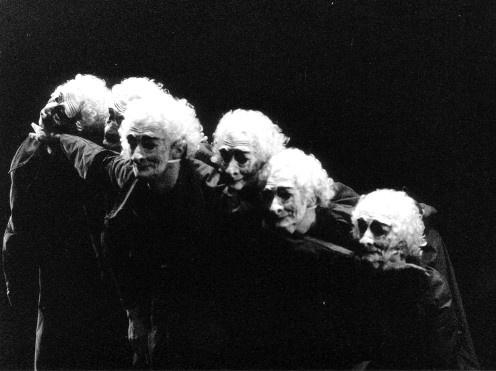 motus - compagnia teatrale di siena. lavoro Il dono del tempo