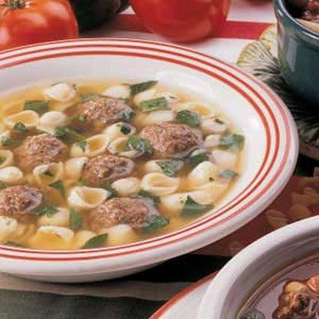 Italian Wedding Soup Recipe def making when it gets colder outside!