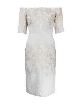 J.Mendel Jacquard Dress worn by Emily Thorne on #Revenge http://www.pradux.com/jmendel-mtl-jcqrd-off-shldr-drss-21353?q=s11