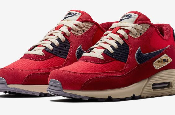 Chenille Accents Highlight This Nike Air Max 90 University