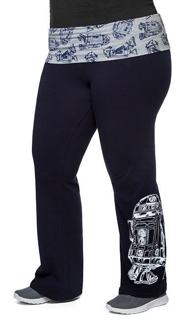 R2-D2 Plus Size Yoga Pants - Exclusive