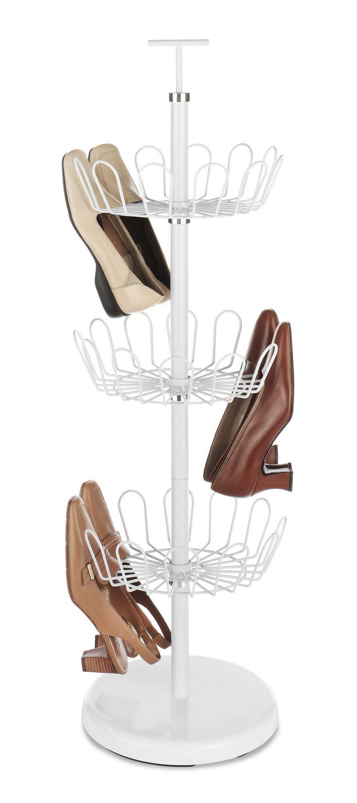 Revolving Shoe Rack (Set of 3)