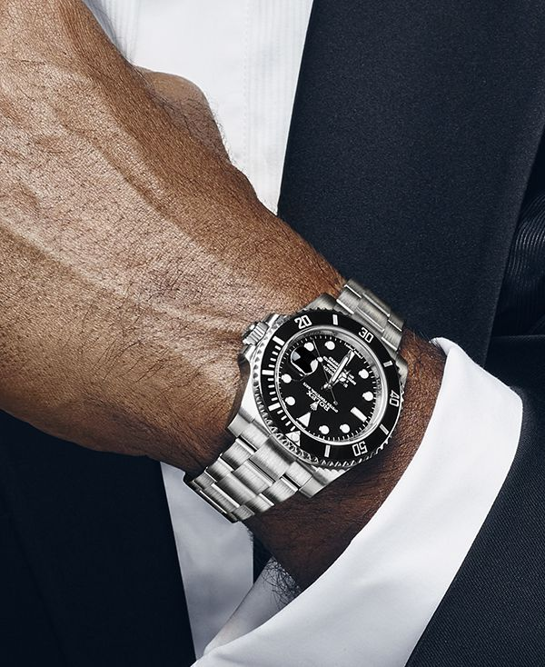 The Rolex Submariner, worn here by former Indian tennis player Vijay Amritraj, is really a watch for every occasion.