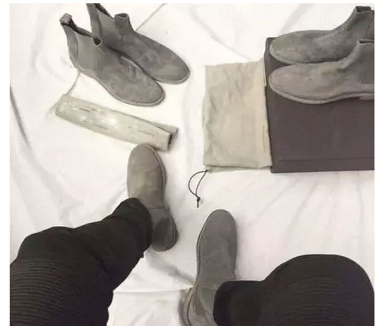 Handmade All-matching Luxury brand Men Chelsea Boots Leather Yeezus Shoes  Men's Party and Wedding Dress Shoes  Kanye West shoes #>=#>=#>=#>=#> Click on the pin to check out discount price, color, size, shipping, etc. Save and like it!