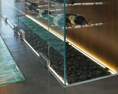 The Wave House, Modern Wine Cellar, Vancouver