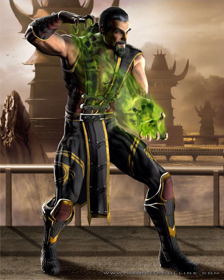 HD Wallpaper and background photos of Shang Tsung for fans of Mortal Kombat images.
