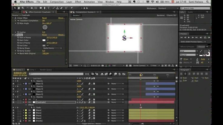 "2/24 Mega Curso After Effects en 35 horas ""Intro espectacular"" (tutorial..."