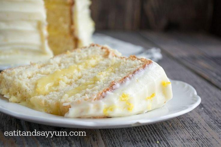 Lemon Cake Recipes On Pinterest: 17 Best Ideas About Lemon Chiffon Cake On Pinterest