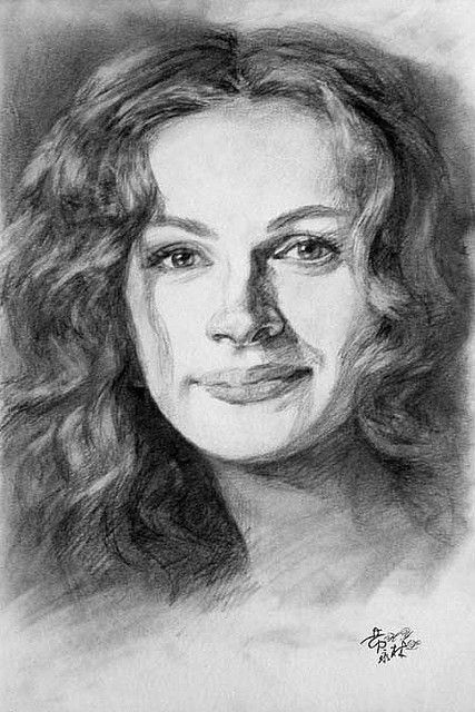 pencil drawings Cool Pencil Portrait Drawing