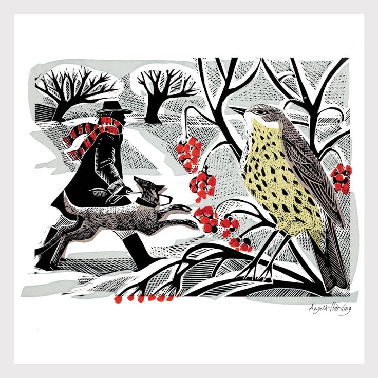Angela Harding – Winter berries