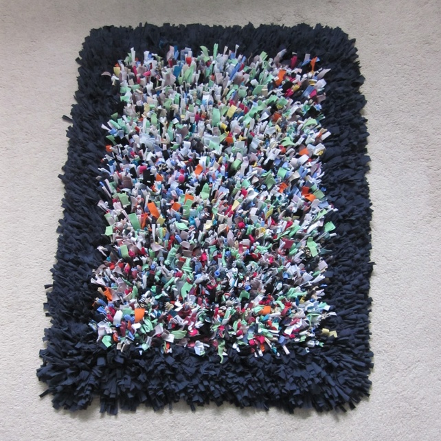 T Shirt Rag Rug Tutorial: 203 Best Images About Recycled T-shirt Ideas On Pinterest