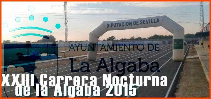 Abierta la inscripción para la carrera del 11 de septiembre de 2015, la XXIII carrera nocturna de la Algaba 2015, vamos a correrla. Distancia: 9500m.  #carreras #populares #running #maraton #marathon #triathlon #sevillahoy #laalgaba