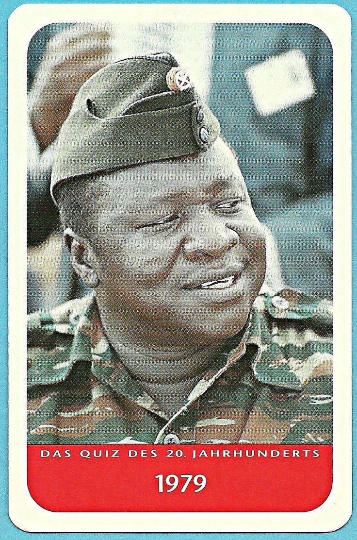 Idi Amin of Uganda 1979