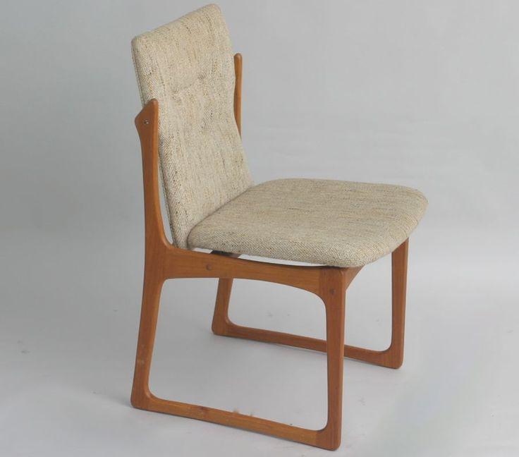 50er 60er jahre design stuhl denmark vamdrup stole fabrik for Stuhl design 60er