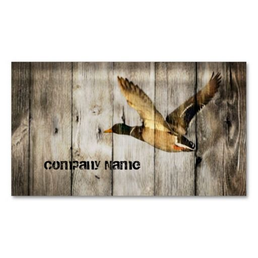 149 best hunter business cards images on pinterest business cards primitive barn wood western country mallard duck business card colourmoves