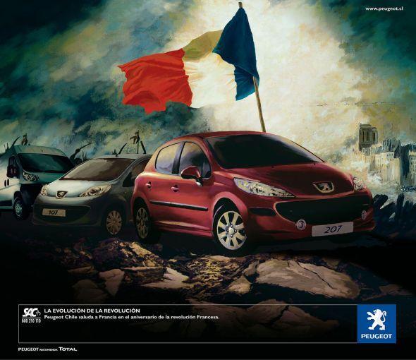 Peugeot: Revolution   Ads of the World™