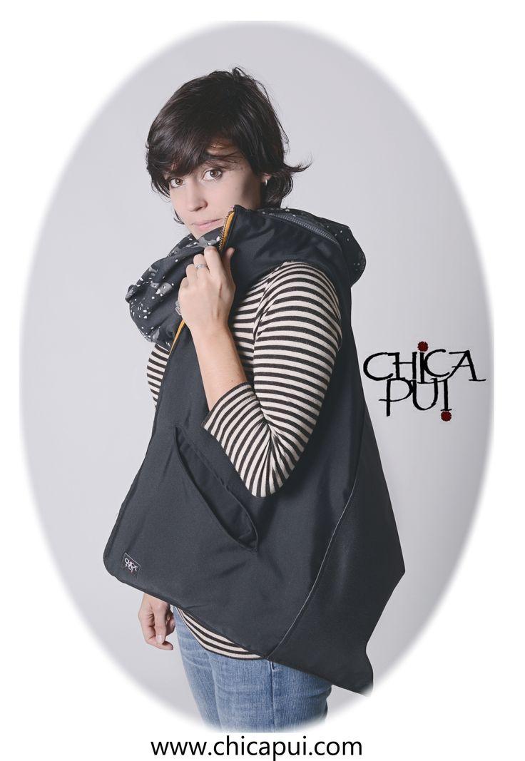 Chicapui.com  bag with hood