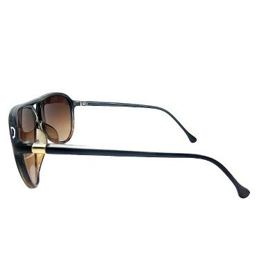 Women's Aviator Sunglasses - Black Tortoise