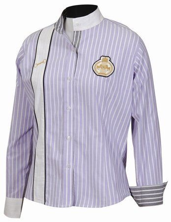 EQUINE COUTURE Ascot Show Shirt by JPC. $16.80. Sport shirt made with combed cotton for an extra soft feel in suitable weight and style for showing and smart causal wear. This shirt has a contoured cut styling with a great fit in bold vertical stripes.