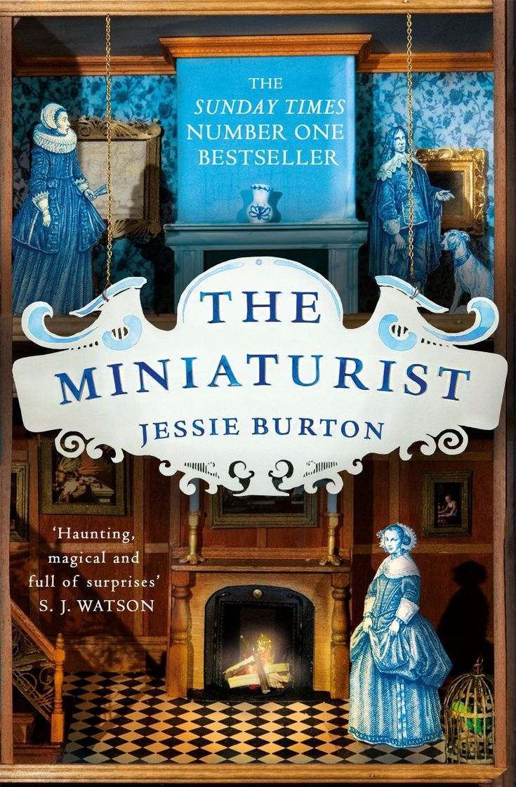 The Miniaturist by Jessie Burton . Read at my book club and rated 7/10