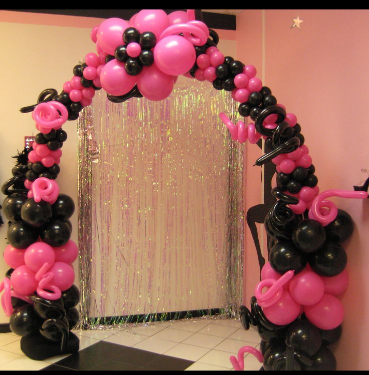 405 best balloon arch images on pinterest balloon arch for Balloon arch decoration ideas
