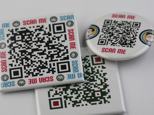 Putting QR Codes on buttons or magnets - Why? How? - The Button Guy Blog