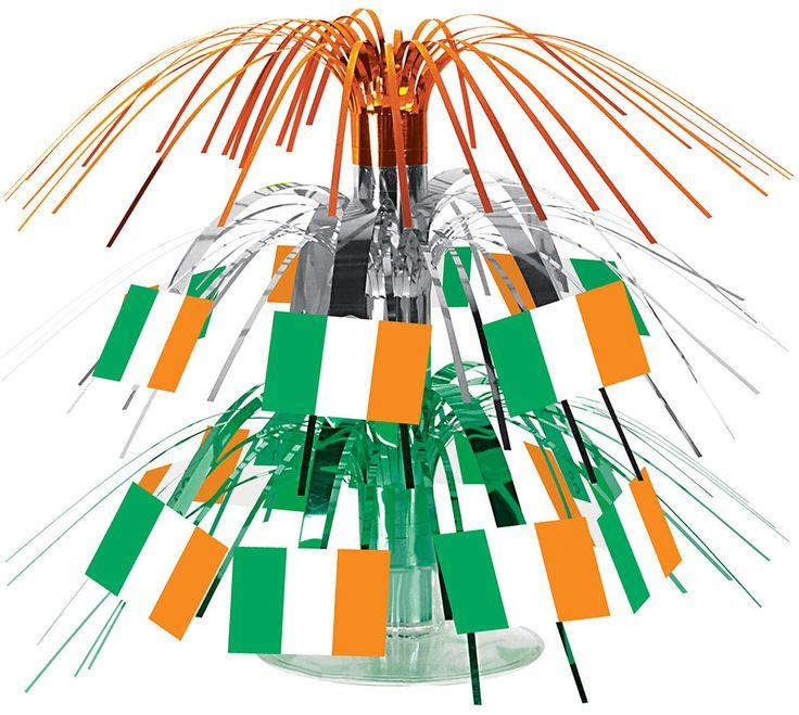 Centro tavola con bandiere irlandesi su VegaooParty, negozio di articoli per feste. Scopri il maggior catalogo di addobbi e decorazioni per feste del web,  sempre al miglior prezzo!