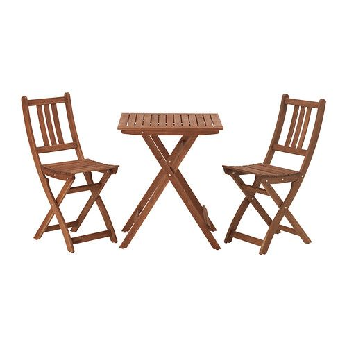 chairs outdoor gray bistro set ikea and natural wood table