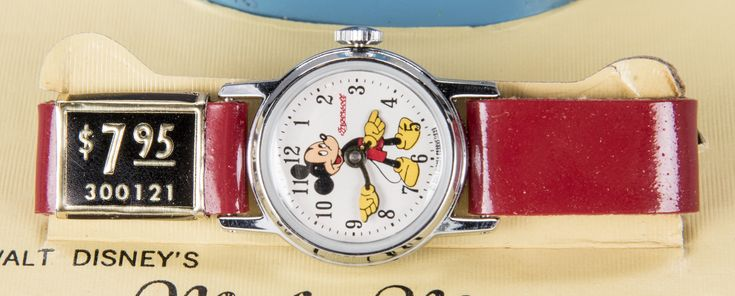 Image result for vintage mickey mouse timex watches